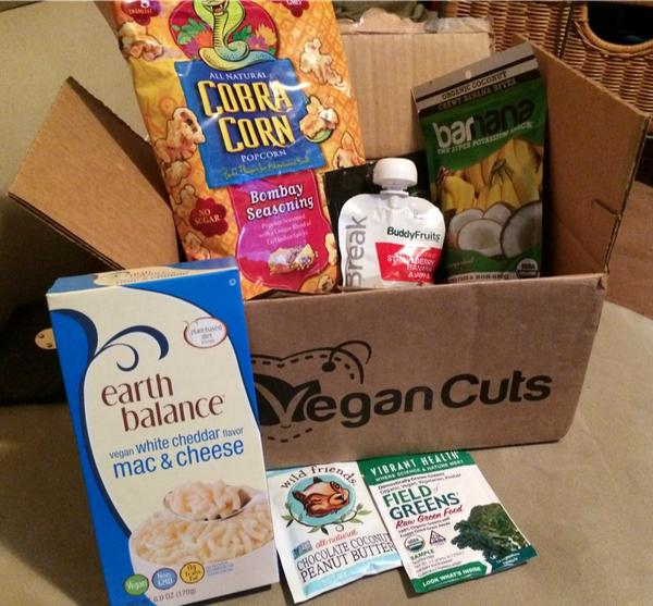 Review – Vegan Cuts Snack Box Subscription (Great for New Vegans!) – Lazy Girl Vegan