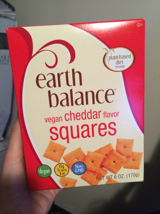 Review – Earth Balance Vegan Cheddar Flavor Squares – Lazy Girl Vegan