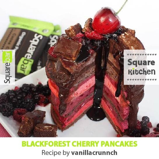 Review - Cocoa Cherry and Cocoa Mint Squarebar Protein Bars - Lazy Girl Vegan