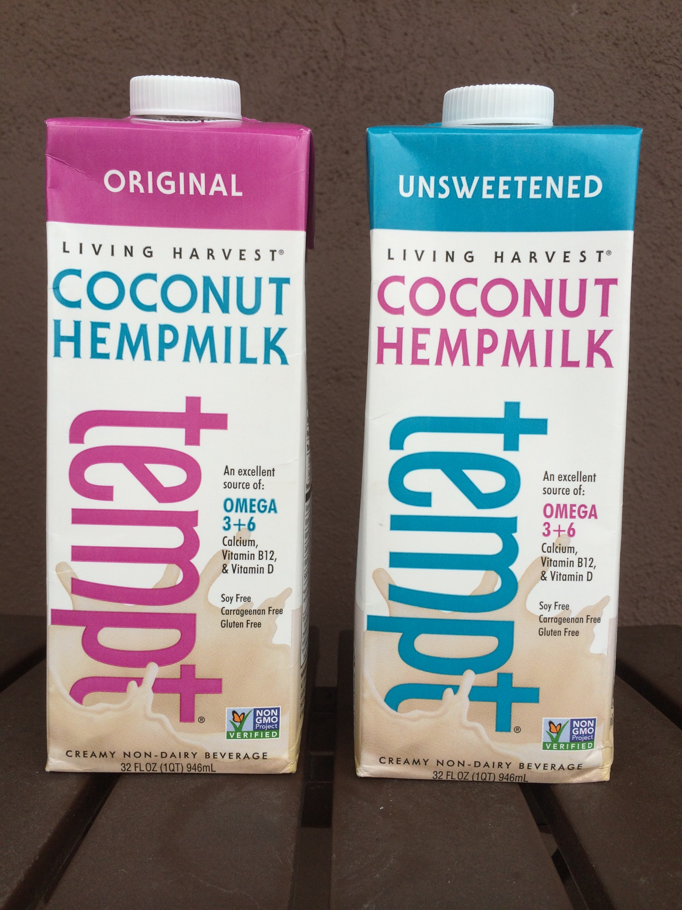 Food Review – Living Harvest Tempt Coconut Hemp Milk (Original & Unsweetened) – Lazy Girl Vegan