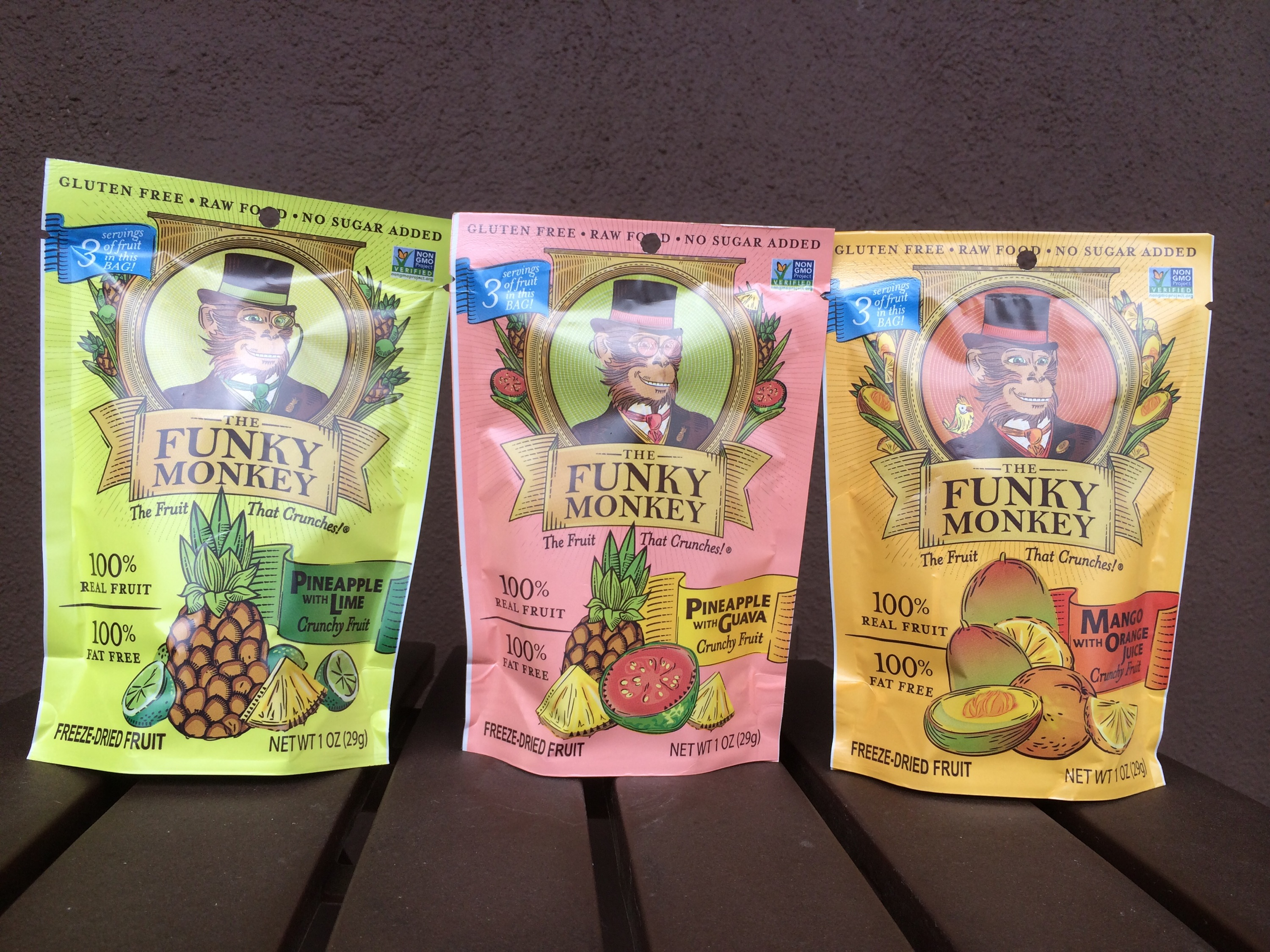 Review - The Funky Monkey Freeze-Dried Fruit - Lazy Girl Vegan