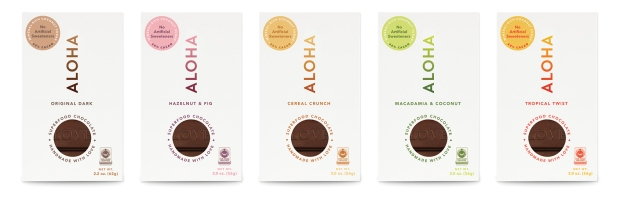Cereal Crunch, Hazelnut & Fig, Tropical Twist, Oh My! ALOHA Has Some Bangin' New Chocolate Flavors (They're Guilt-Free!)