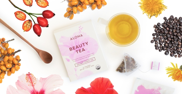 It's Tea Time! Wellness Company ALOHA Releases Organic, Non-GMO Tea Collection in Four Flavors