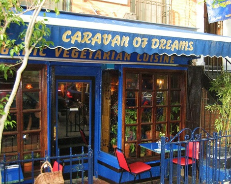 Vegan New York City – Organic Food & Live Music at Caravan of Dreams in the East Village – Perfect for Date Nights!