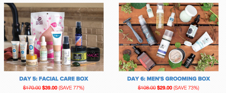 Vegan Beauty and Snack Boxes Are Between 25% and 77% Off During the Vegan Cuts Summer Sale!