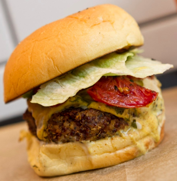 A Quinoa-Based Patty From New Restaurant Superiority Burger Just Might Be the Best Veggie Burger in Manhattan