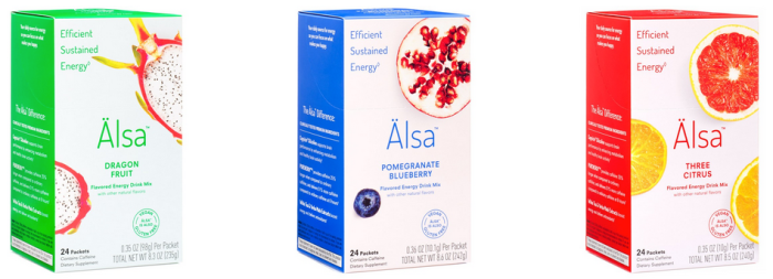 Review – Alsa Energy Drink Mix – Natural, Sustained Energy From Cognizin Citicoline in Three Flavors
