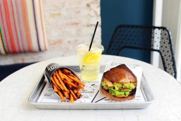 Veggie Burger of the Month – The Guac Burger from by CHLOE.
