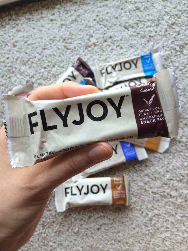 Food Review – FLYJOY Quinoa Bars – Vegan, Non-GMO, Gluten-Free Superfood Snack