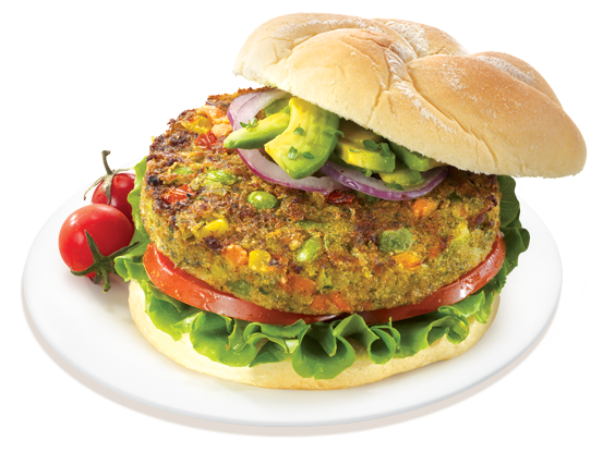 Veggie Burger of the Month — Dr. Praeger's California Veggie Burger
