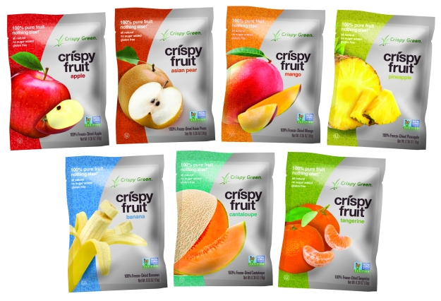 Food Review – Crispy Green Crispy Fruit – Non-GMO Dried Fruit in Several Flavors