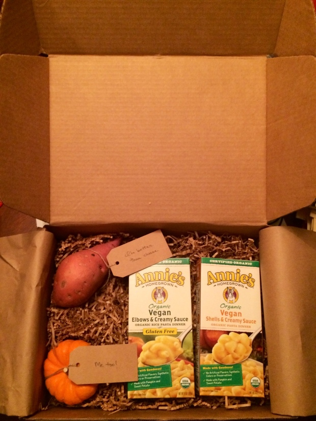 Unboxing a Special Delivery From Annie's Homegrown – Vegan Mac n' Cheese Products!