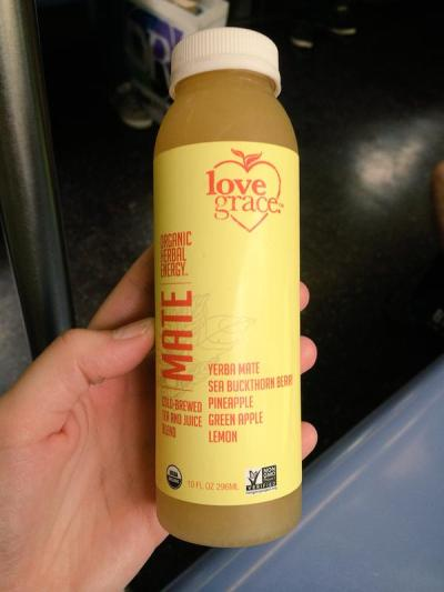 Review — Love Grace Organic Herbal Energy — Non-GMO Drinks in Matcha, Mocha and Mate Flavors
