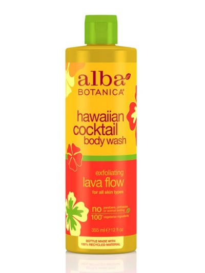Friday Favorites – Alba Botanica Hawaiian Cocktail Body Wash in Exfoliating Lava Flow