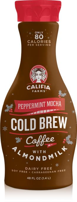 Weekly News Roundup — Califia Farms Releases Vegan Peppermint Mocha, Holiday Nog, & Spiced Cranberry Cocktail