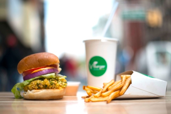 Weekly News Roundup – VBurger Opens in NYC's Union Square