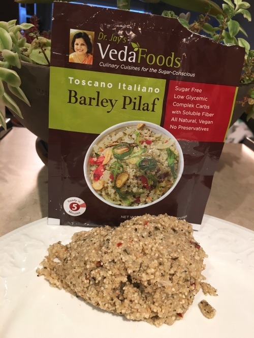 Food Review – VedaFoods Barley Pilaf – Culinary Cuisine for the Sugar Conscious