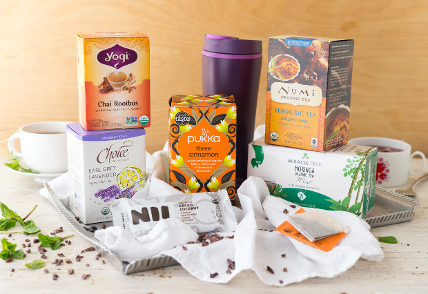 The Vegan Cuts Tea Box is Back — Get an Aladdin Recycled Travel Mug & More Than 80 Bags of Tea