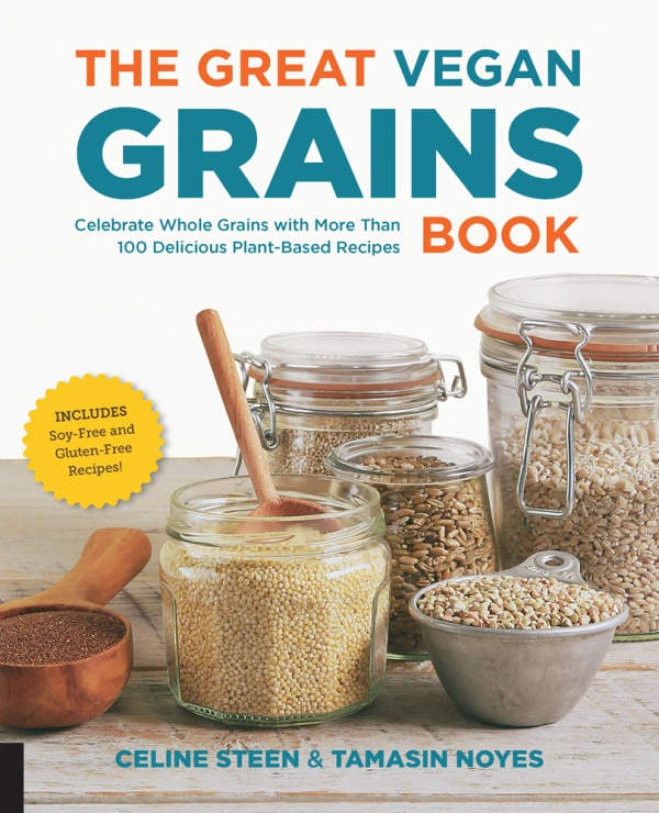 Cookbook Spotlight – The Great Vegan Grains Book by Celine Steen and Tamasin Noyes