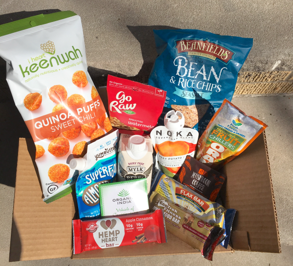 Unboxing the February 2016 Vegan Cuts Snack Box – I Heart Keenwah Quinoa Puffs, Go Raw Sprouted Watermelon Seeds & More