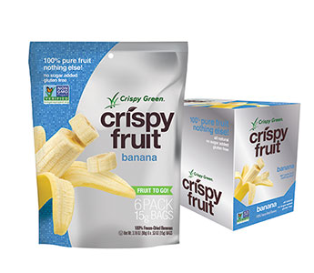 Giveaway — Congrats to the Winner of Crispy Green Freeze-Dried Crispy Fruit