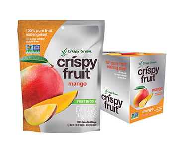 Giveaway — Win a 16-Pack Variety Box of Crispy Green Freeze-Dried Crispy Fruit