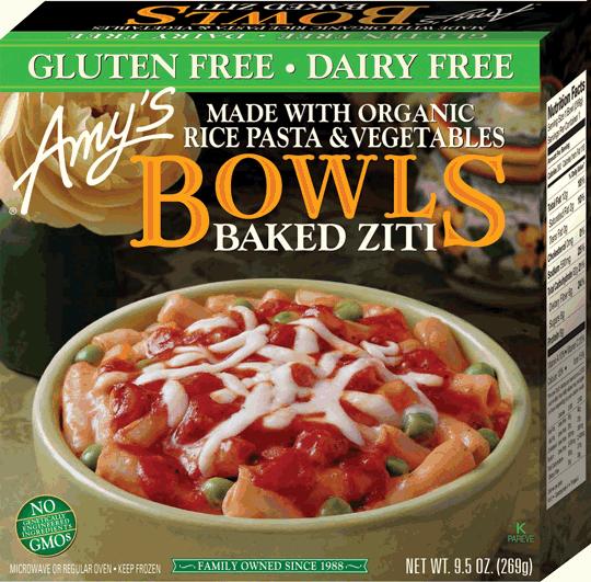 Amy S Kitchen Gluten Free Non Dairy Vegetable Lasagna