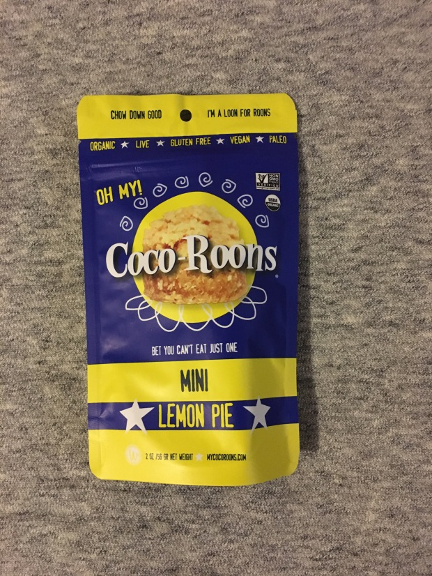 Review - Lemon Pie & Brownie Mini Coco-Roons - Organic, Vegan, Gluten-Free Sweet Treats