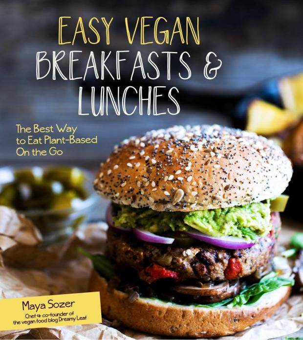 Giveaway – Win a Copy of the Cookbook Easy Vegan Breakfasts & Lunches: The Best Way to Eat Plant-Based Meals On the Go