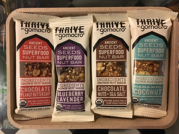 Review – GoMacro Thrive Bars – Made With Superfood Nuts & Seeds (Enter to WIN a Free Box!)