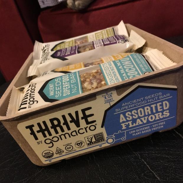 Giveaway — Win an Assorted Box of Organic, Vegan & Gluten-Free GoMacro Thrive Bars