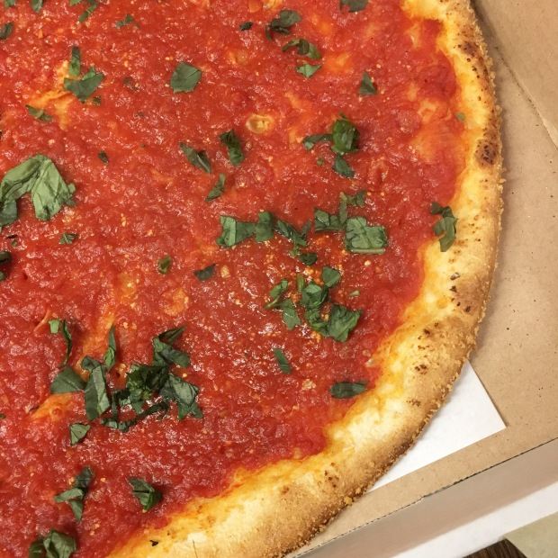 Vegan NYC – Custom Order a Marinara Pizza with Fresh Basil at Almost Any New York Pizzeria