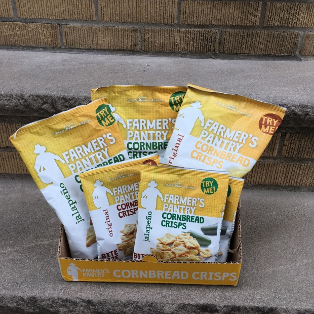 Giveaway – Congrats to the Winner of the Farmer's Pantry Cornbread Crisps Prize Pack