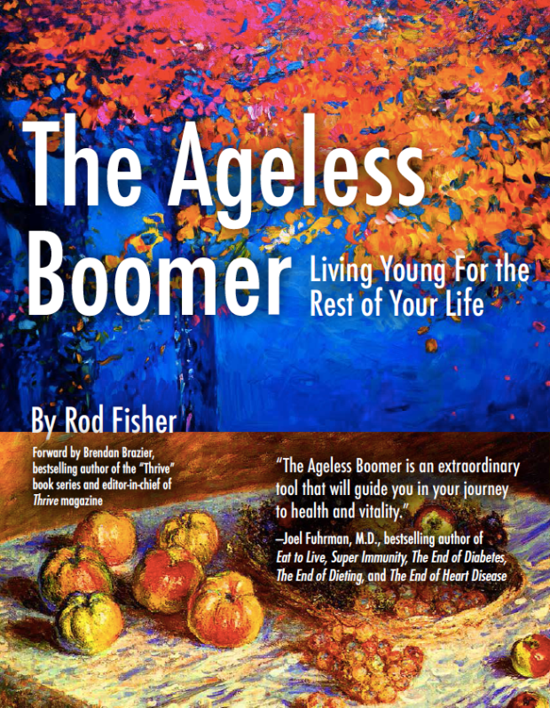 Cookbook Spotlight – The Ageless Boomer: Living Young for the Rest of Your Life (Enter to WIN a Free Copy)
