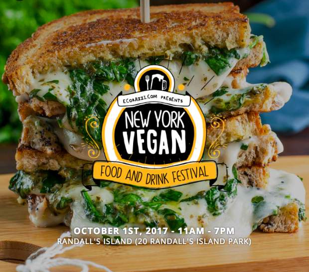 The New York Vegan Food and Drink Festival Presented by Ecorazzi is Coming to Randall's Island This October