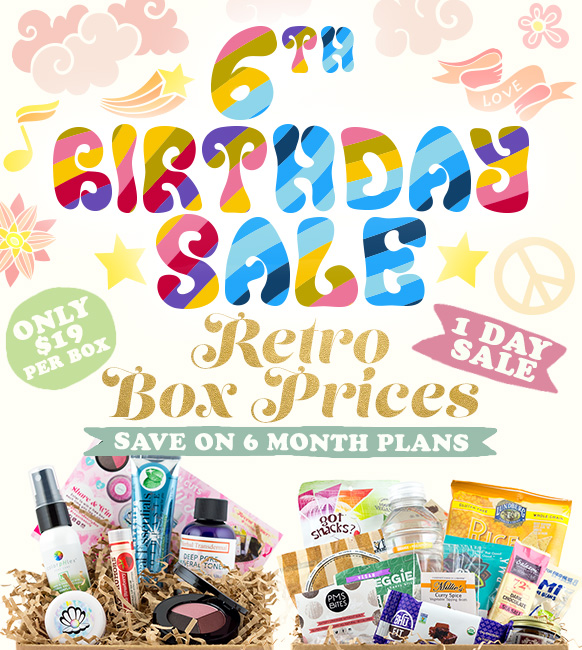 Vegan Cuts Launches One-Day-Only Retro Pricing Deal on 6-Month Vegan Snack Box and Beauty Box Subscriptions