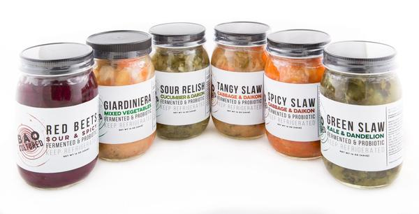 Giveaway – Win a Prize Pack of Fermented, Cultured Veggies, Sauces & More From Bad Ass Organics