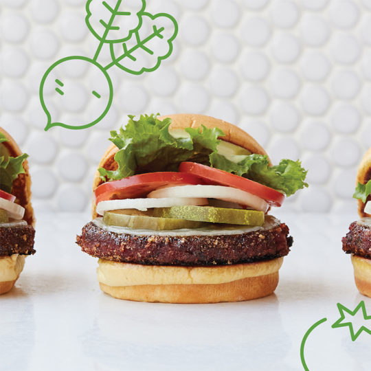 Shake Shack Has Added a New Vegan Burger to Select Restaurants in New York, California and Texas. Thumbs Up for The Veggie Shack!